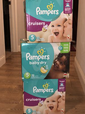 Pampers cruisers one box left for Sale in Austin, TX