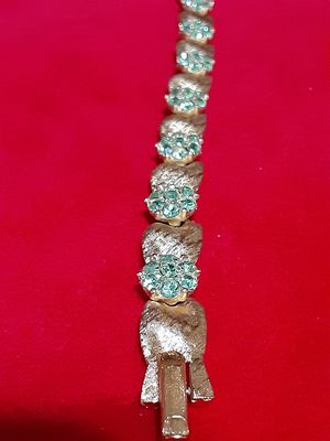 18 karat gold electric plated / over silver for Sale in Greer, SC
