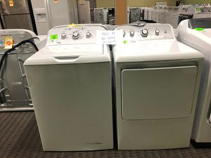 Brand New GE Washer/Dryer Set O3 for Sale in Irving, TX