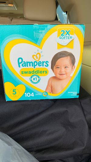 Pamper Swaddlers. All sizes. Big Boxes for Sale in Houston, TX