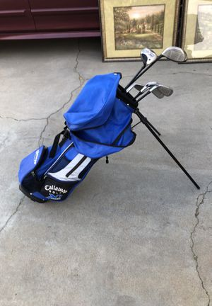 Junior Callaway golf clubs starter set for Sale in Moreno Valley, CA