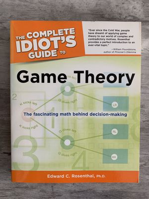 The Complete Idiot's Guide to Game Theory for Sale in Selma, CA