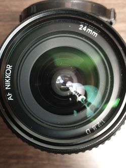 Nikon Nikkor 24mm f2.8D Wide Lens With Free Hoya UV Filter - Excellent Shape for Sale in Los Angeles,  CA