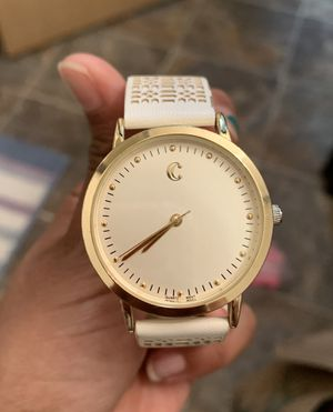 Charming Charlie White and Gold Watch for Sale in Portland, OR