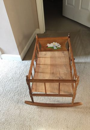 "Doll bed wooden. 13 "" by 22 1/2"" for Sale in Lascassas, TN"