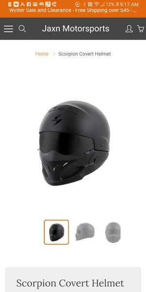 Skorpion pilot motorcycle helmet for Sale in Germantown, MD