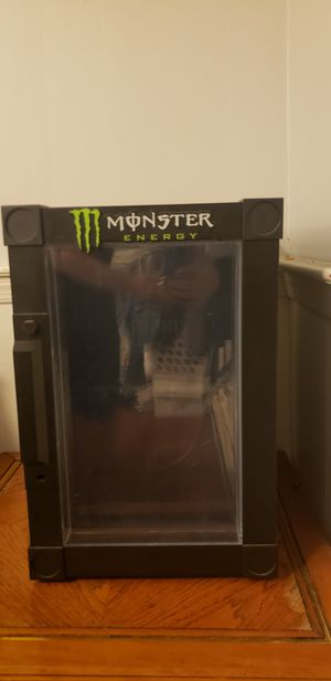 Monster energy mini fridge for Sale in West Alexandria, OH