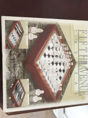 CHESS GLASS COLLECTION for Sale in Akron, PA