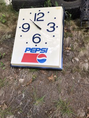 Pepsi wall clock for Sale in Tolland, CT