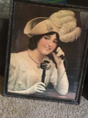 1890s original telephone poster ad for Sale in Minnetonka, MN