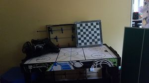 Electronic air hockey, foosball, pingpong, and basketball table. for Sale in Portland, OR