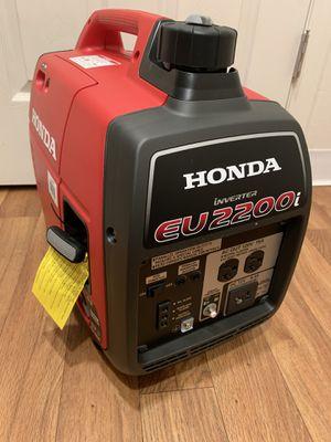 Honda generator EU2200i. $850 firm on price for Sale in Bellevue, WA