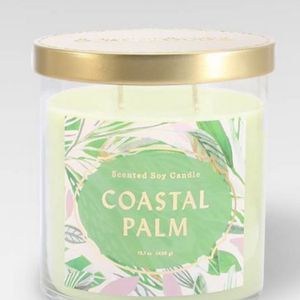 PACK OF FOUR NEW Opalhouse Costal Palm Scented Soy Candle 50 Hour Burn Time 15 Oz Mango Current Scent for Sale in Westerville, OH
