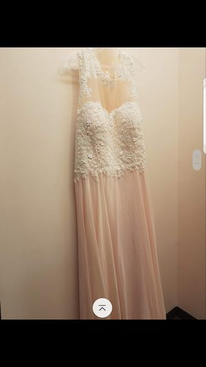 Plus size Blush pink dress for Sale in Taunton, MA
