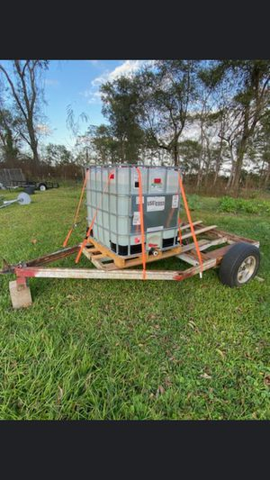 Water tank and trailer for Sale in Houston, TX