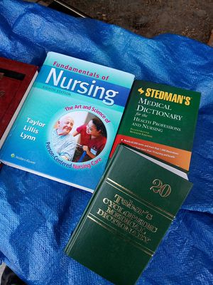 huge lot of nursing books for Sale in Norwalk, CA