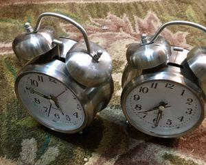 New alarm clocks $10 for both. for Sale in Riverside, CA