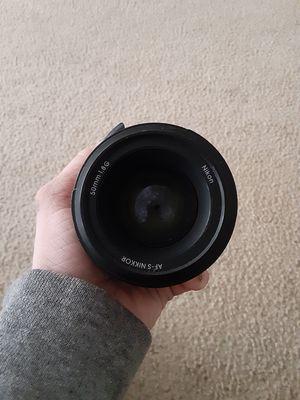 Nikon AF-S NIKKOR 1.8G for Sale in Woodhaven, MI