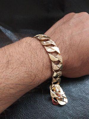 Esclava de oro solido 14k garantizado for Sale in Pomona, CA