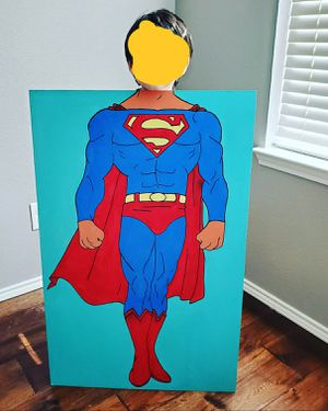 Kids Superman Photo Prop for Sale in Grand Prairie, TX