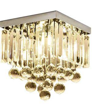 Brand new crystal chandelier/luxury chandelier/home decor/Light fixtures /home goods for Sale in Tamarac, FL