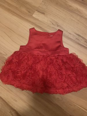 Baby girl dress flower red for Sale in St. Louis, MO