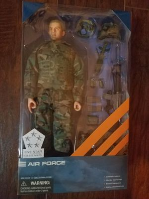 Five Star Collectibles by Dragon-Air Force 1/16 Action Figure with Accessories-Rare 2004 collectible for Sale in Gilbert, AZ
