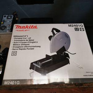 """Makita 14"""" cut-off saw for Sale in Coronado, CA"""