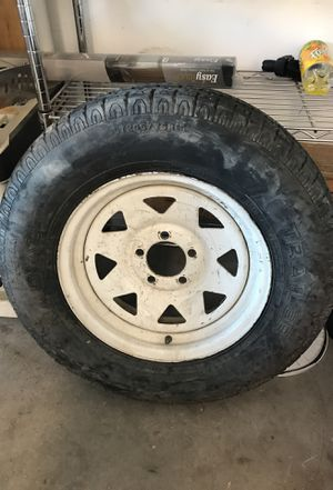 15 inch trailer tire for Sale in Las Vegas, NV