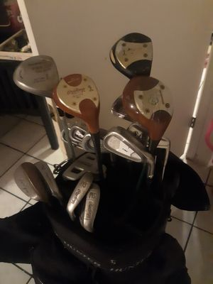 Golf clubs in carrying bag for Sale in Phoenix, AZ