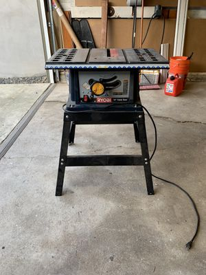 "Ryobi 10"" table saw for Sale in Long Beach, CA"