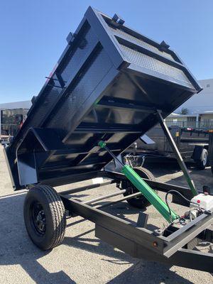 5x8x2 DUMP TRAILER for Sale in Wickenburg, AZ
