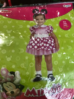 Minnie Mouse costume 9-12 months *missing ears* for Sale in Shelbyville, TN