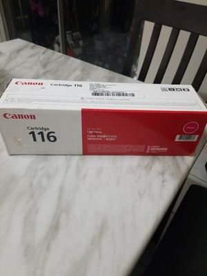 Canon 116 Printer Cartridge Magenta for Sale in Sugar Land, TX