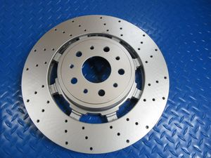 Maserati GranTurismo Gt front disk brake rotors drilled PREMIUM QUALITY 1pc #6708 for Sale in Hollywood, FL