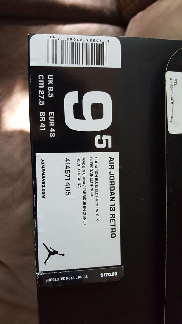 Air Jordan 13 Retro authentic