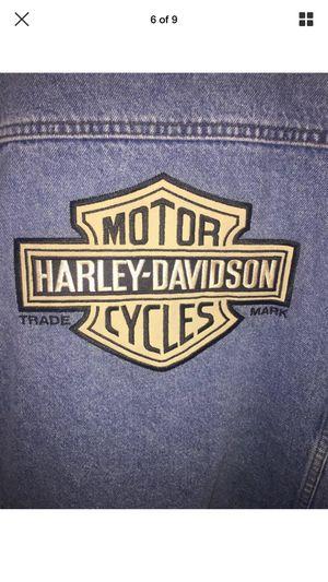 Harley Davidson Men's Denim Vest Jacket, Size XL for Sale in Frederick, MD