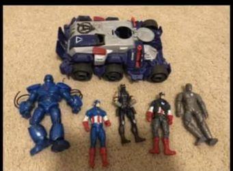 Captain America toys lot for Sale in Ridgefield,  WA