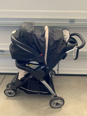 Graco FastAction Fold Sport Travel System Stroller - Pierce for Sale in Fontana, CA