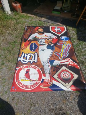 Ozzie Smith Brand new big head wall decal for Sale in Danville, PA