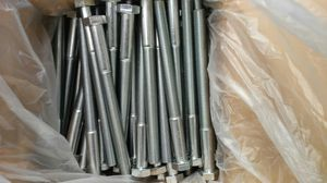 (45) M16 x 200 Steel Hex Head Bolts, Class 10.9, Zinc finish, Coarse for Sale in Edgerton, MO