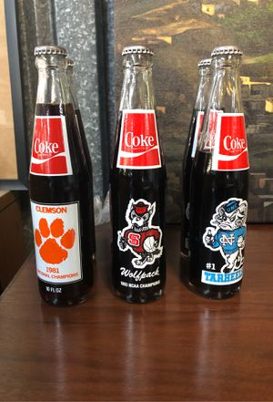 Collectible glass coke bottles for Sale in Queens, NY