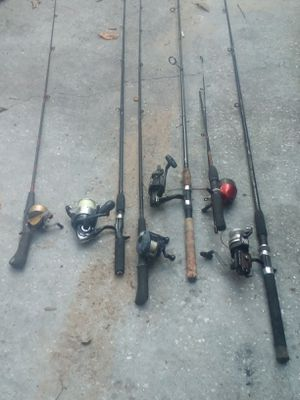 Fishing poles for Sale in Spring Hill, FL