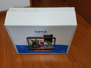 Top fin 5.5 gallon fish tank for Sale in San Jose, CA