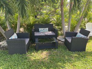 wicker patio furniture for Sale in Ocean Ridge, FL