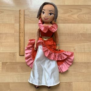 Disney Store Large Princess Elena Of Avalor Plush Doll Stuffed Animal Toy for Sale in Elizabethtown, PA