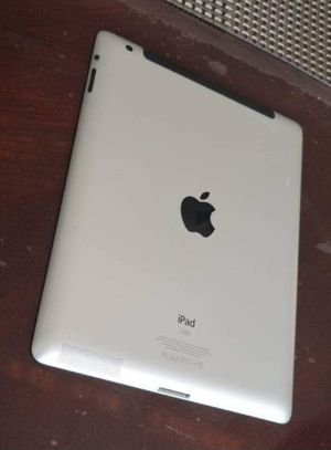 iPad 4 , 4th Generation. Cellular and Wi-Fi Internet access. Unlocked. 9.7 inch big size iPad ( Usable with Sim and Wi-Fi) for Sale in Fort Belvoir, VA