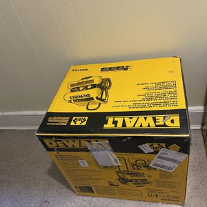 DEWALT 4-Gallon Single Stage Portable Electric Twin Stack Air Compressor for Sale in Queens, NY