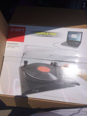 Brand new audio profile pro MP3 digital audio turntable only $45 obo for Sale in San Diego, CA