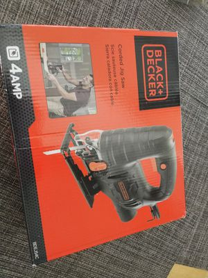 Black & Decker corded jig saw 4 amp NEW never used for Sale in Fort Lauderdale, FL